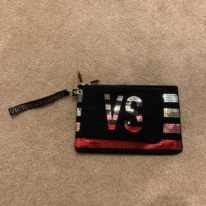 Two Victoria's Secret Makeup Bags